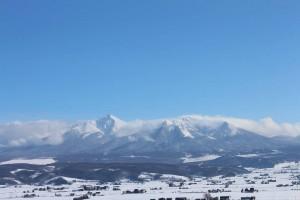 今日の山の風景