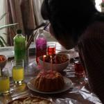 ゆみちゃんとケーキ