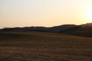 夕方の西3線