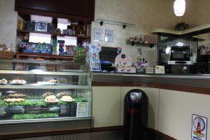 町のカフェ