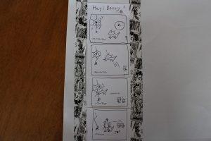 ベリーの4コマ漫画