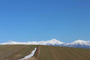十勝岳の風景