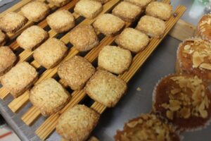 オーツ麦のクッキー