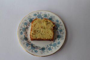 アスパラとルバーブのケーキ