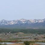 今日の山の景色